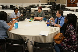 OPW mentors and interns at Wiki Conference USA 2014