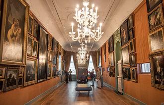 Gevangenpoort - The interior of the 'Galerij Prins Willem V'