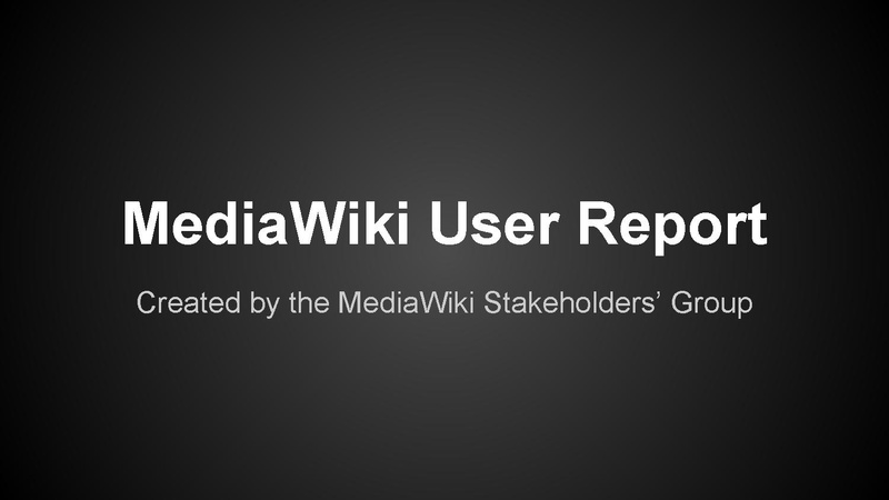 File:2015 MediaWiki User Report.pdf