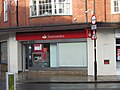 2016-01-14 Santander Bank Church Street, Cromer.JPG