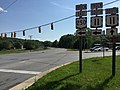 2016-05-27 16 25 26 View south along U.S. Route 11 (Commerce Road) at the junction with Virginia State Route 261 (Statler Boulevard) in Staunton, Virginia.jpg