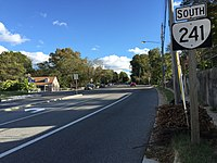 2016-10-22 16 28 03 View south along Virginia State Route 241 (Kings Highway) at Kathryn Street in Huntington, Fairfax County, Virginia.jpg