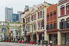 2016 Singapur, Chinatown, Ulica South Bridge, Domy-sklepy (14).jpg