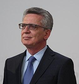 Thomas de Maizière, ministre fédéral de l'Intérieur allemand du cabinet Merkel III. (définition réelle 3216×3446)