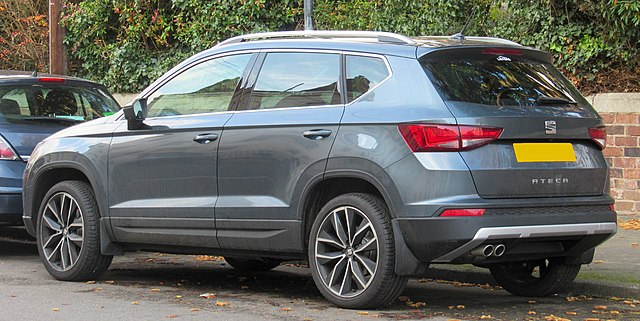 Image of 2017 SEAT Ateca Xcellence 1.4 Rear