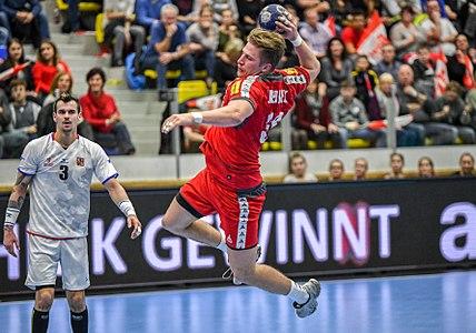 20180105 Men's handball Austria - Czechia Wilhelm Jelinek 850 9323.jpg