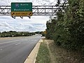 2019-10-07 14 29 31 View south along Virginia State Route 123 (Gordon Boulevard) at the exit for Interstate 95 NORTH (Washington) in Woodbridge, Prince William County, Virginia.jpg