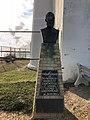 2020-10-18 16 33 35 Bronze representation of Lieutenant George Gordon Meade at Barnegat Lighthouse within Barnegat Lighthouse State Park in Barnegat Light, Ocean County, New Jersey.jpg