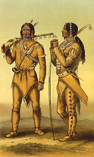 Gwich'in - Gwich'in hunters at Fort Yukon, 1847