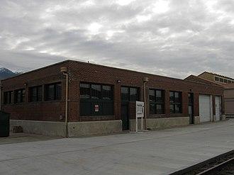 Union Station (Ogden, Utah) - Trainmen's building