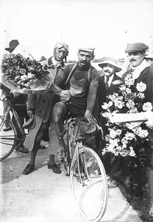 Gustave Garrigou - Garrigou at the 1913 Tour de France.