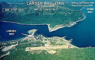 Larsen Bay Airport - Image: 2A3 c