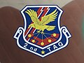 2nd TAG tail marking of a 402nd Tactical Airlift Squadron Japan Air Self-Defense Force Kawasaki C-1.jpg