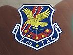 2nd TAG tail marking of a 402nd Tactical Airlift Squadron Japan Air Self-Defense Force Kawasaki C-1.jpg