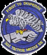 302d Tactical Missile Squadron - Emblem