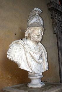 3084 - Firenze - Palazzo Pitti - Portico - Pirro - Foto Giovanni Dall'Orto, 28-Oct-2007.jpg