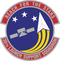30 Launch Support Sq emblem.png