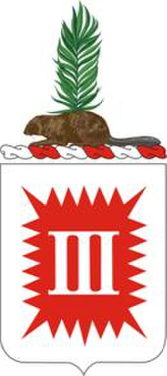 Coats of arms of U.S. Engineer Battalions - Image: 3 Eng Bn Co A