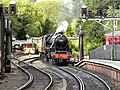 45428 Eric Treacy Arriving at Pickering Station - geograph.org.uk - 2553691.jpg