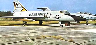 460th Fighter-Interceptor Training Squadron - 460th Fighter-Interceptor Squadron F-106 Delta Darts