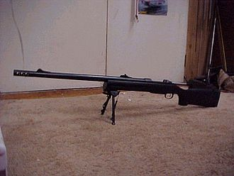 CZ 550 - CZ 550 elephant gun/stopper rifle chambered for the .585 Gehringer wildcat cartridge.