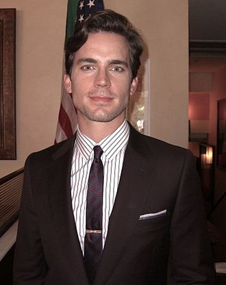 "Matt Bomer - Bomer during the June 7, 2011, production of ""On the Fence"", the ninth episode of the third season of White Collar."