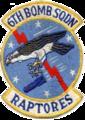 6th Bombardment Squadron - SAC - Emblem.png