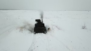 Файл:6th Tank Brigade's exercise at the Mulino Training Ground (19-03-2021).webm