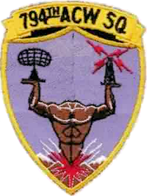 Cape Newenham Air Force Station - Emblem of the 794th Aircraft Control and Warning Squadron