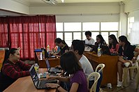 8th Waray Wikipedia Edit-a-thon 14.JPG