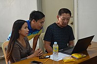 8th Waray Wikipedia Edit-a-thon 15.JPG