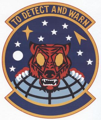 9th Space Warning Squadron - 9th Space Warning Squadron emblem