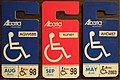 ALBERTA HANDICAP placards with stickers (2049030411).jpg