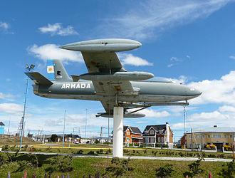 Argentine Naval Aviation - Aermacchi MB326 at Rio Grande