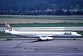 ASA DC-8-63; HB-IBF@ZRH,July 1991 AAM (5127148654).jpg