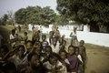 ASC Leiden - F. van der Kraaij Collection - 01 - 017 - Cheering Liberian youth posing for the photographer - Monrovia, Old Road, Montserrado County, Liberia, 1976.tiff