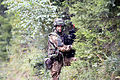 A Slovenian soldier provides security during Saber Junction 2014 at the Hohenfels Training Area in Hohenfels, Germany, Sept 140902-A-ZG808-272.jpg