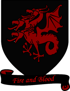 Daenerys Targaryen - Coat of arms of House Targaryen