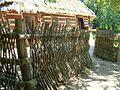 A Wooden pole fence from Sanok County, Skansen in Sanok 031.JPG
