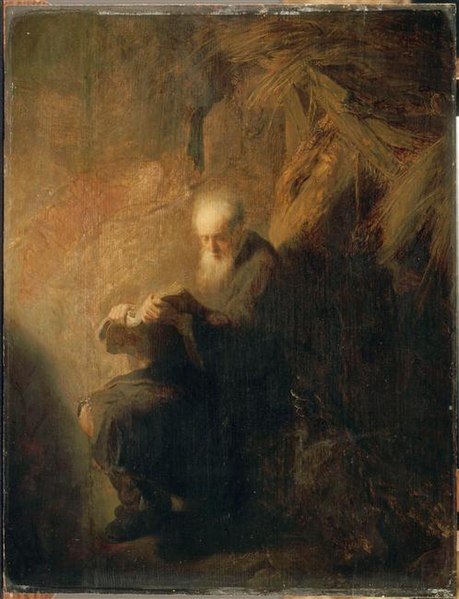 File:A hermit reading, Louvre.jpg