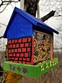 A little bird house in Little Mountain Dog Park in Winnipeg. (31894500388).jpg