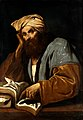 A man of learning (Avicenna?). Oil painting by a Ne Wellcome V0017691.jpg