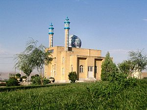 Malayer - A mosque in Malayer.