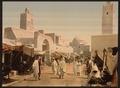 A mosque in the principal street, Kairwan, Tunisia-LCCN2001699373.tif