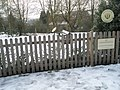 A snowy Children's Garden at Guildford Cathedral - geograph.org.uk - 1153752.jpg