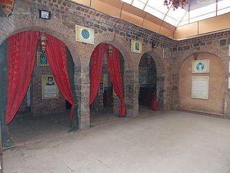 Ghalib - Ghalib ki Haveli, now a museum, Ballimaran, Old Delhi
