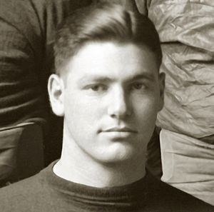 Abe Cohn - Cohn cropped from 1918 Michigan team portrait