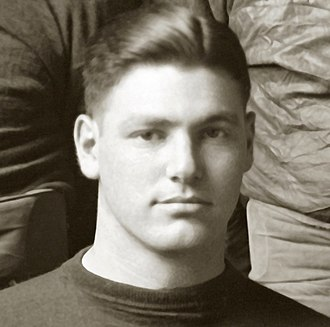 """1918 Michigan Wolverines football team - Halfback Abe Cohn was """"an eye opener"""" against Case, requiring """"two or three men"""" to stop him."""
