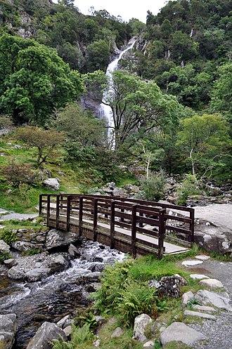 Aber Falls - Image: Aber Falls (7991422829)