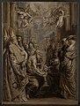 Abraham van Diepenbeeck - Die Disputation über die Gegenwart Christi in der Eucharistie - 2836 - Staatliche Kunsthalle Karlsruhe.jpg